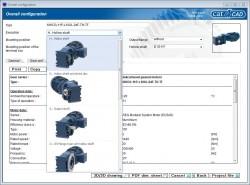 cat4CAD 6 – Neue Version inkl. der gesamten Getriebemotorenreihe WG20 verfügbar